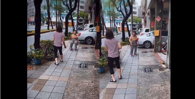 休战在家戴资颖陪伴家人 耐心教90岁奶奶打羽球