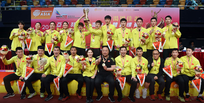 2021苏迪曼杯团体赛战火将起 亚团赛送4参赛资格