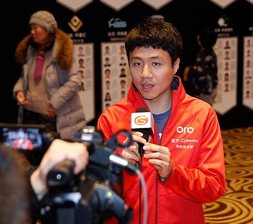 李映九接受天元围棋频道的采访