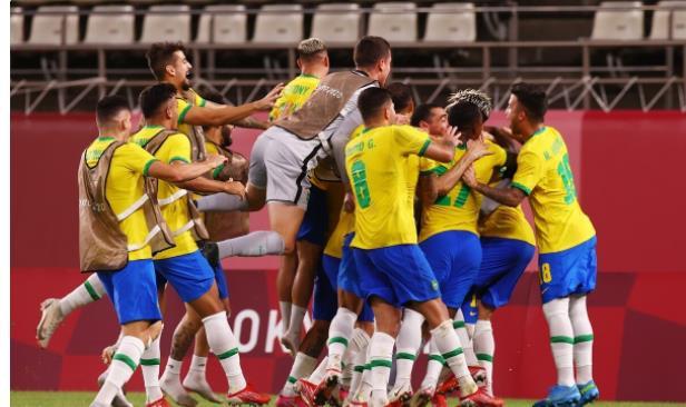 奥运男足:巴西点球大战4比1击败墨西哥  挺进决赛