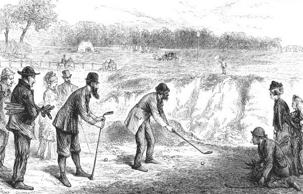 布莱克希斯的奖牌日,1874年《每日新闻》