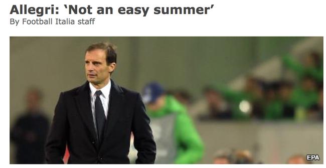 阿莱格里:不简单的夏天