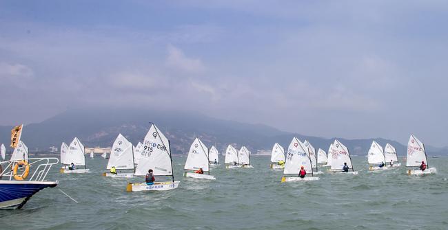 第13届中国杯帆船赛11月6日开赛:拥抱蓝水零碳航行