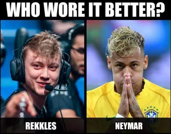 rekkles VS 内马尔
