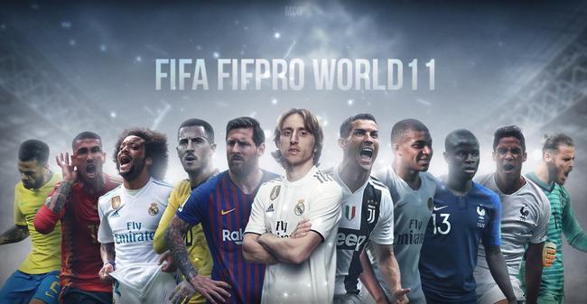 梅西C罗连续12年入围FIFA最佳阵容 巴萨51次称雄