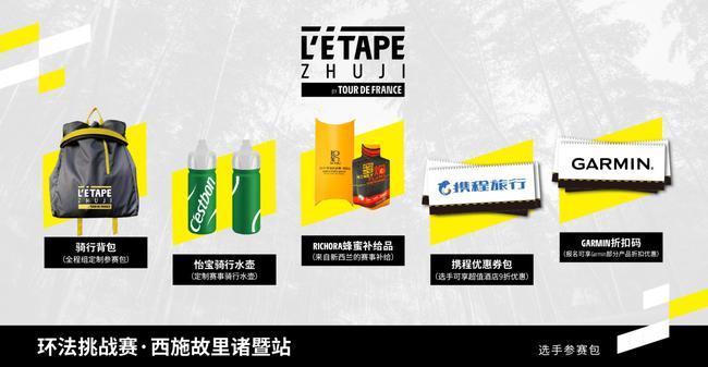 參賽包內含產品