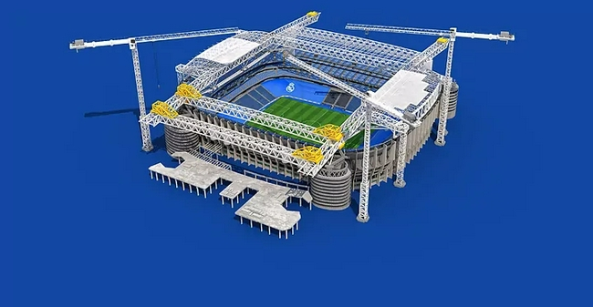 伯納烏改造尚未完成就重開放  今晚2.5萬球迷進場