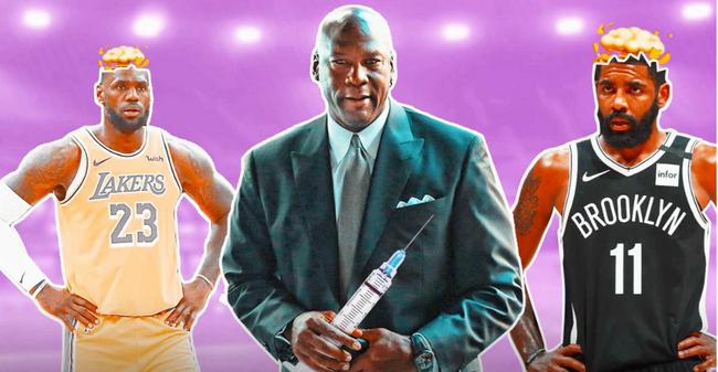 【博狗扑克】乔丹就新冠疫苗事件发声 支持NBA决策相信科学