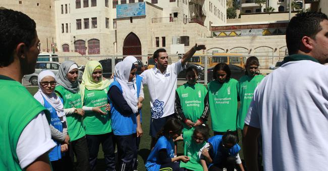 哈维也在帮助青少年们在更安全的环境内参与足球运动