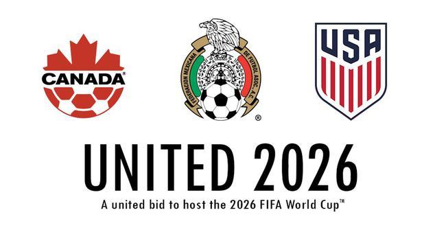 美国、墨西哥和加拿大三国共同主办世界杯