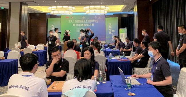 十四运围棋决赛首金 上海胡耀宇芮乃伟混双夺冠