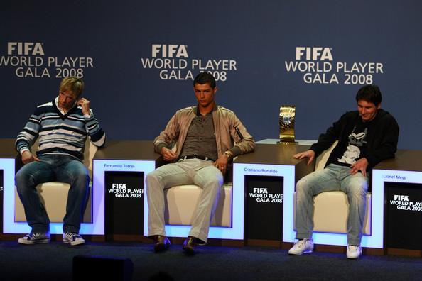 2008年的世界足球先生颁奖