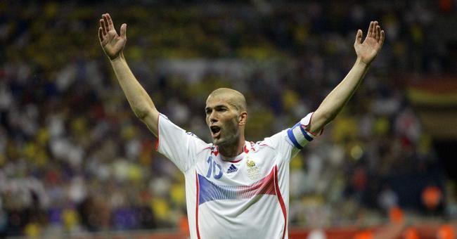 齐达内不可思议的2006年世界杯表现