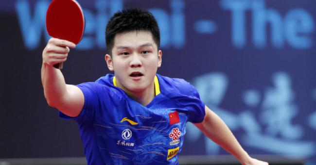 男乒世界杯三连冠创历史 樊振东:将期待变动力
