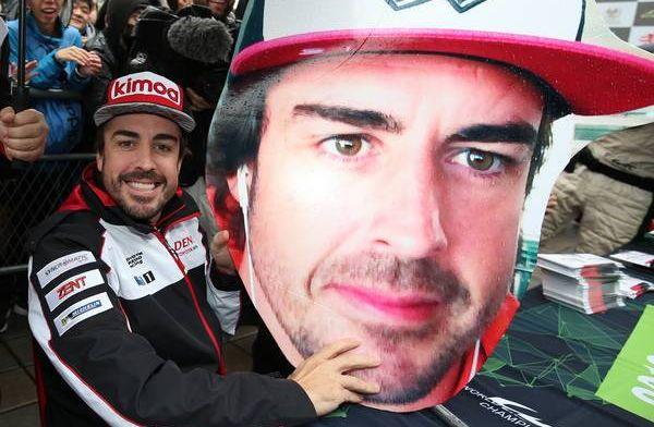 两届F1世界冠军西班牙车手阿隆索