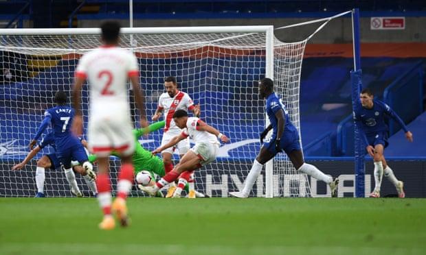 英超-维尔纳2射1传哈弗茨破门 切尔西补时丢球3-3