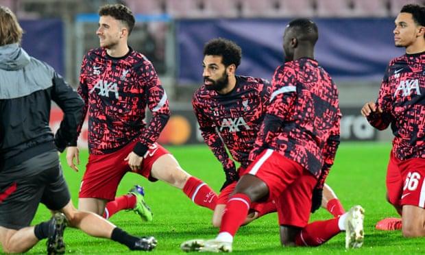 欧冠-萨拉赫55秒闪击 利物浦半场1-0领先