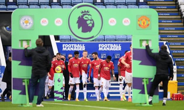 英超-B费助攻拉什福德进球 曼联半场1-1莱斯特城