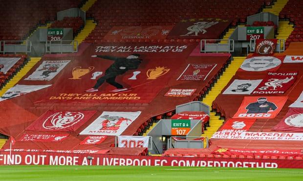英超-萨拉赫致失球 利物浦负保级队遭主场6连败