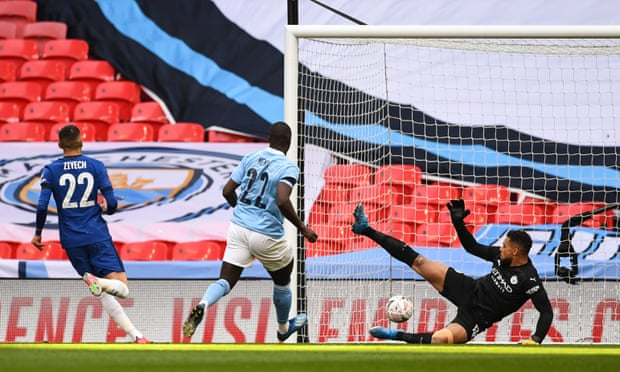 足总杯-维尔纳助攻齐耶赫 切尔西淘汰曼城进决赛