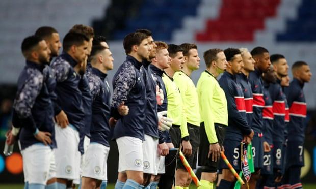 欧冠-丁丁马赫雷斯进球 曼城2-1逆转客胜10人巴黎