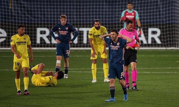 欧联-佩佩进球塞瓦略斯红牌 阿森纳1-2客负黄潜
