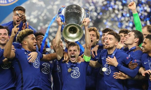 切爾西勝曼城再奪歐冠