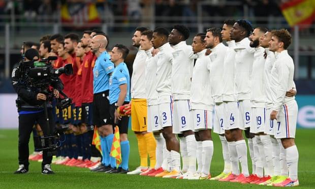 欧国联-姆巴佩传射本泽马破门 法国2-1西班牙夺冠