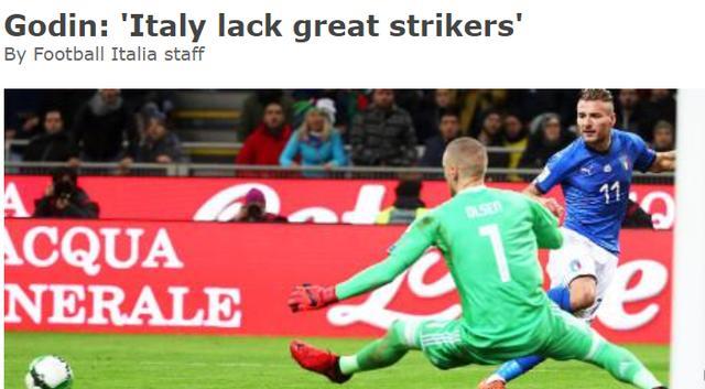 名将谈意大利无缘世界杯:因为他们缺少好前锋