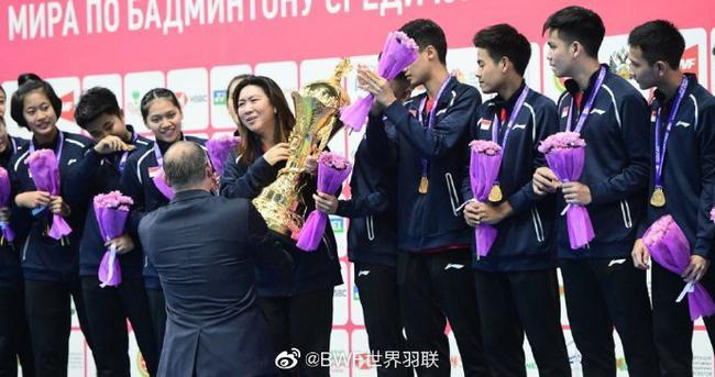 王莲香欣喜印尼首夺世青赛团体冠军:准备了一年