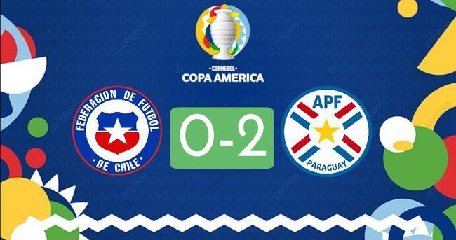 智利不敵巴拉圭