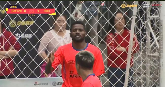喀麦隆锋霸戴帽获杭州站MVP 场上进球如麻场下谦逊