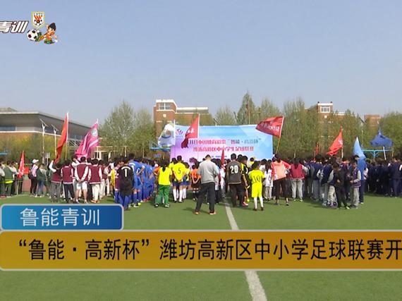 潍坊高新区中小学足球联赛
