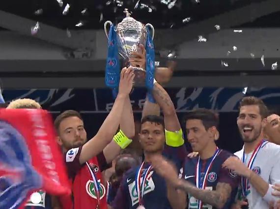 视频集锦-巴黎2-0卫冕法国杯 本赛季豪取国内四冠