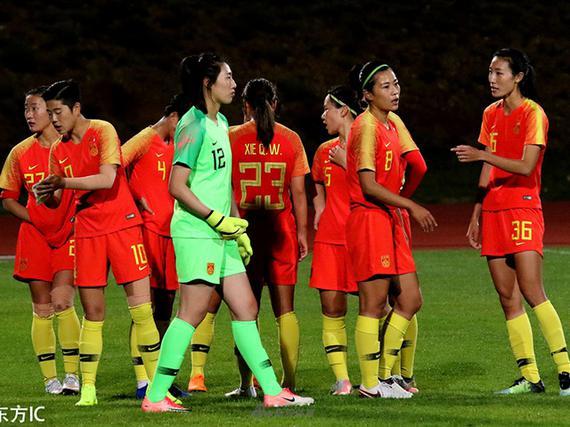 中国女足阿尔加夫杯垫底