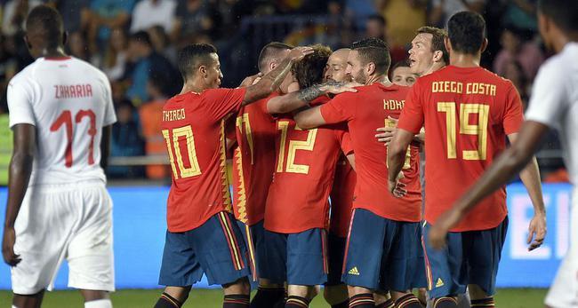 西班牙1-1瑞士