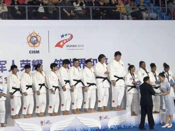 军运会中国夺柔道女子团体冠军 俄罗斯男团夺冠