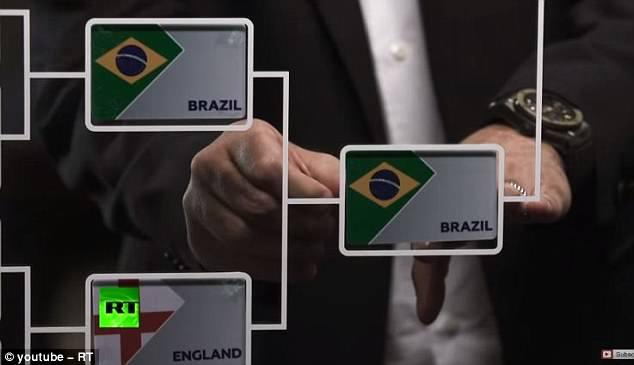 巴西淘汰英格兰