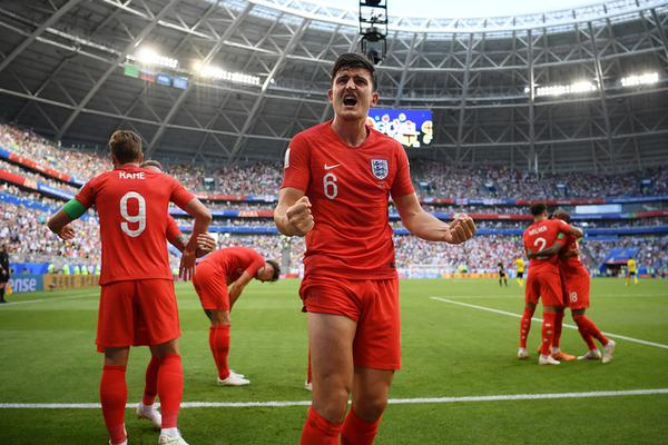 [1/4决赛]瑞典0-2英格兰