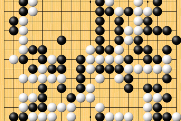 棋谱-2019世界大赛精彩棋局 百灵杯决赛次局柯洁胜