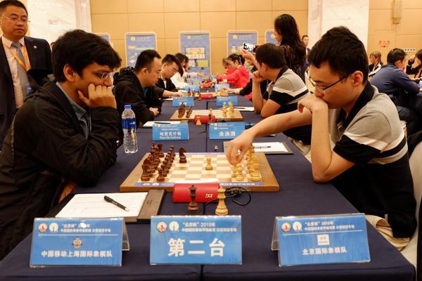 高清-国象甲级联赛第15轮 上海大战北京