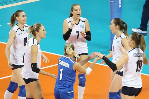 女排亚锦赛5-8名哈萨克斯坦3-0伊朗