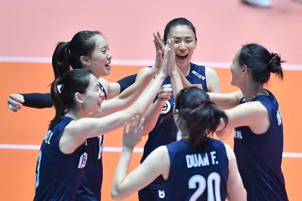 亚锦赛半决赛中国女排vs泰国