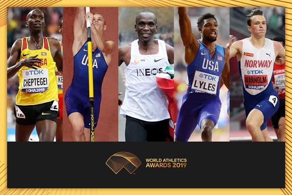 世界田径最佳男行动员候选名单出炉 基普乔格入围