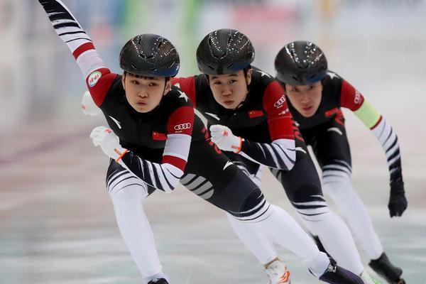 速滑哈萨克站女团中国第四