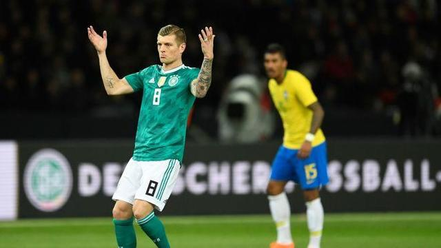 德国双星:输给巴西因为犯错太多 德国还能提升
