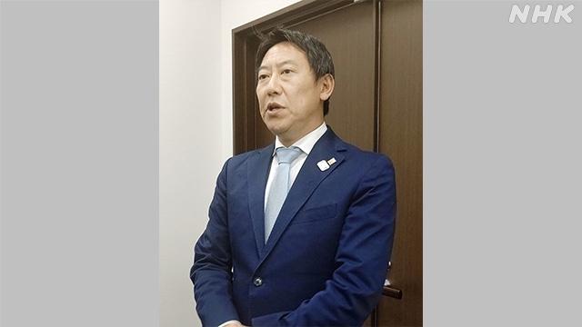 曾与日本外务省确诊官员同乘一辆车的铃木大地(NHK)