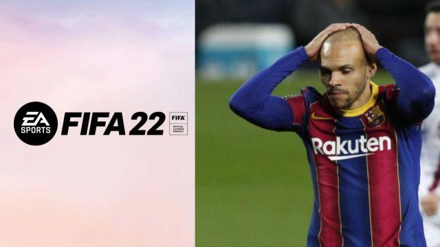 巴萨前锋炮轰FIFA游戏:我就是拄拐跑都比游戏中快