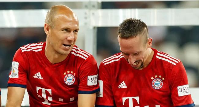 罗本确定离开拜仁,里贝里也很有可能离队