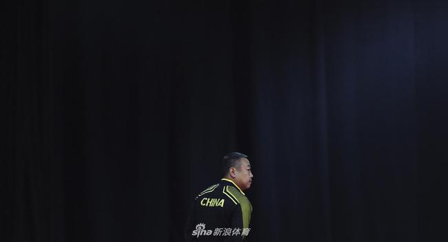 刘国梁督战世乒赛